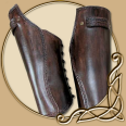 LARP Armour - Celtic Warrior Shinguards